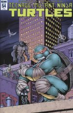 Teenage Mutant Ninja Turtles Vol 5 #54 Incentive Andrew Griffith Variant