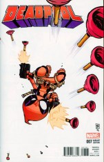 Deadpool Vol 5 #7 Variant Skottie Young Baby