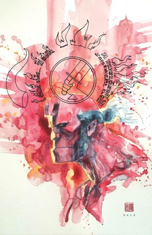 Hellboy And The BPRD 1953 Beyond The Fences #1 Variant David Mack
