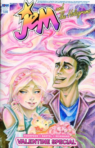 Jem And The Holograms Valentines Day Special 2016 Regular Sara Richard