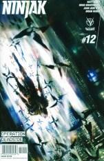 Ninjak Vol 3 #12 Incentive Keron Grant Variant