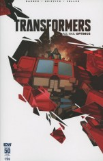 Transformers Vol 3 #50 Variant Jonathan Hickman