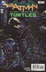 Batman Teenage Mutant Ninja Turtles #4 Incentive Kevin Eastman Variant