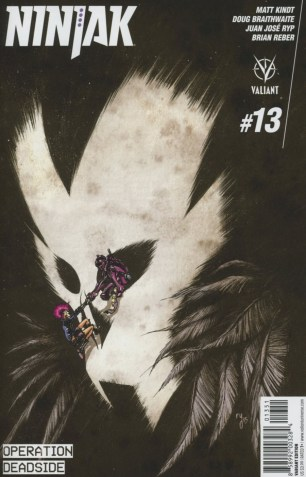 Ninjak Vol 3 #13 Incentive Ryan Lee Variant