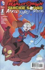 Harley Quinn And The Suicide Squad April Fools Special #1 Variant Sean Cheeks Galloway