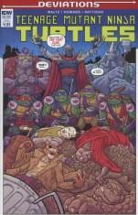 Teenage Mutant Ninja Turtles Deviations One Shot Variant Nick Pitarra Subscription