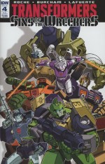Transformers Sins Of The Wreckers #4 Variant EJ Su Subscription