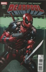 Deadpool Vol 5 #13 Incentive Rob Liefeld Variant