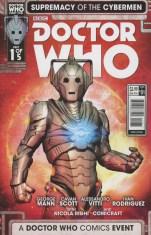 Doctor Who Event 2016 Supremacy Of The Cybermen #1 Variant Fabio Listrani