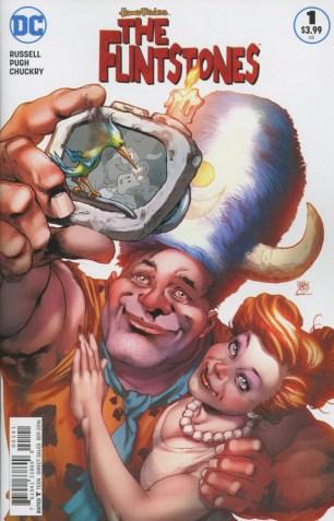 Flintstones (DC) #1 Variant Ivan Reid Fred & Wilma