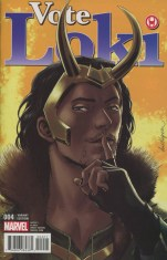 Vote Loki #4 Incentive David Lopez Variant