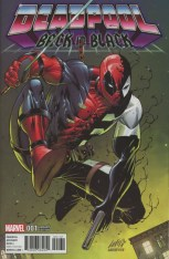 Deadpool Back In Black #1 Incentive Rob Liefeld Color Variant