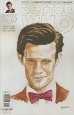 Doctor Who 11th Doctor Year Two #14 Variant Simon Myers Watercolor