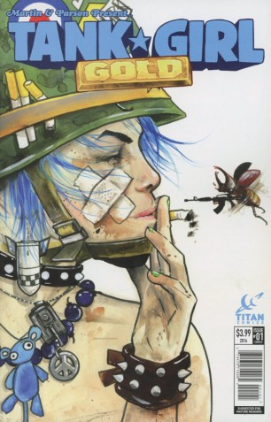 Tank Girl Gold #1 Variant Lora Zombie