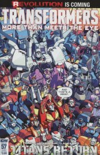 Transformers More Than Meets The Eye #57 Variant Nick Roche Subscription