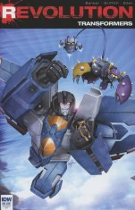 Transformers Revolution #1 Incentive Ken Christiansen Interlocking Variant