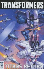 Transformers Vol 3 #57 Variant Casey W Coller Subscription