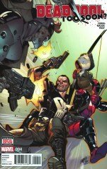 Deadpool Too Soon #4 Regular Pepe Larraz