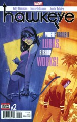 Hawkeye Vol 5 #2 Regular Julian Totino Tedesco