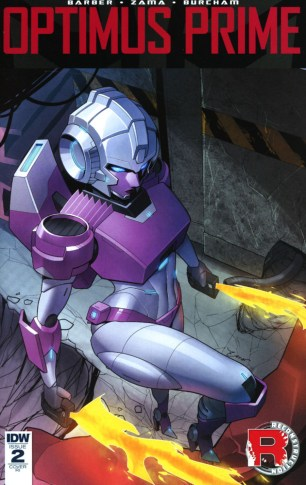 Optimus Prime #2 Incentive Zoner Variant