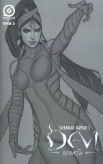 Shekhar Kapurs Devi Rebirth #5 Variant Jenny Frison Limited Edition Sketch