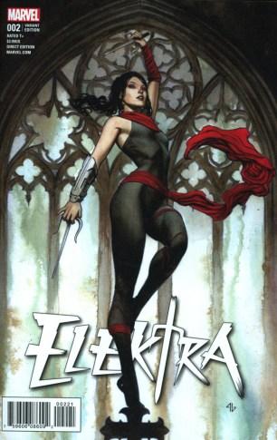 Elektra Vol 4 #2 Incentive Adi Granov Variant