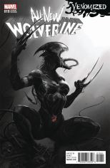 All-New Wolverine #19 Incentive Francesco Mattina Venomized Black & White Variant
