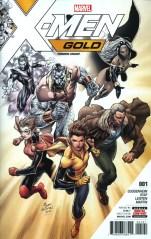 X-Men Gold #1 Incentive Ardian Syaf Premium Variant