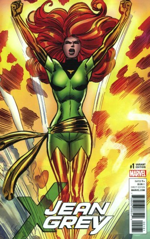 Jean Grey #1 Incentive Dave Cockrum Remastered Variant