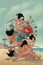 Shaolin Cowboy Wholl Stop The Reign #2 Variant Frank Cho