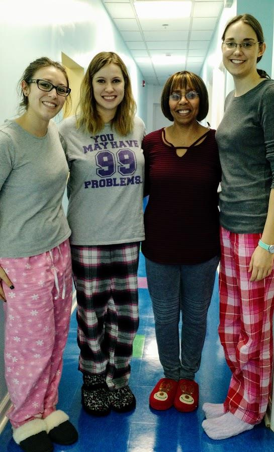 Therapy PJ day!