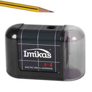 Pencil Sharpener Battery Operated - Premium Quality Great for Home Office or School From Imikas