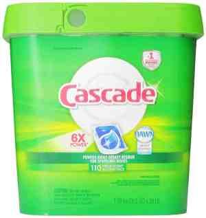 Cascade Actionpacs Dishwasher Detergent, Fresh Scent Review