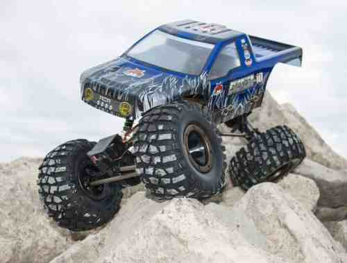 Redcat Racing Everest-10 Electric Rock Crawler with Waterproof Electronics, 2.4Ghz Radio Control (1/10 Scale), Blue