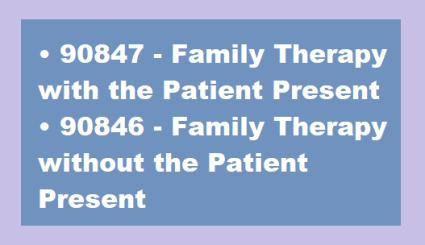 CPT Code 90847 vs CPT Code 90846