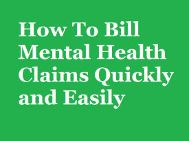beginners guide to mental health billing
