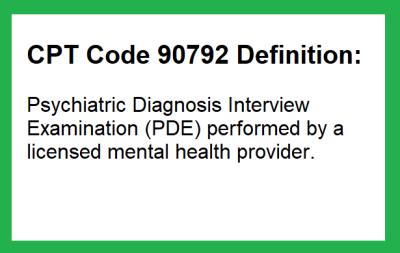 cpt code 90792 description
