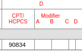 cpt code 90834