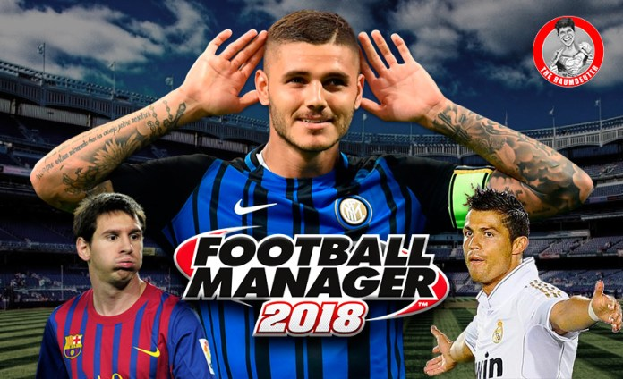 FM 18 Icardi - Inter - with Lionel Messi and Cristiano Ronaldo