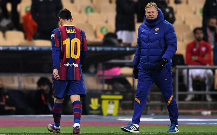 Ronald Koeman answers to Barcelona job security speculation