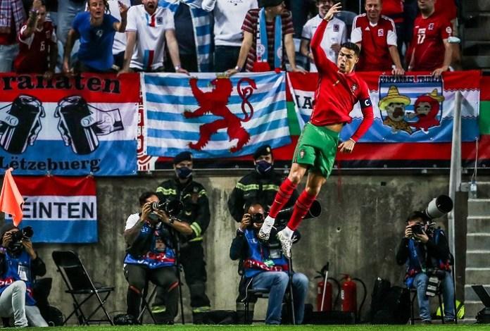 Cristiano Ronaldo scored his 115th Portugal goal