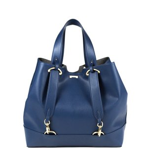navy blue ecofriendly vegan leather handbag affordable luxury
