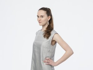 Vanntha Dress // silver-grey  FOLKDAYS Nº 110 - FOLKDAYS  - 3
