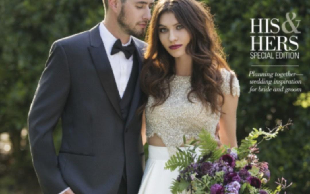 Spanish inspiration styled shoot featured in Arkansas Bride Magazine!