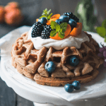 waffles, healthy, food, dessert, breakfast, Sunday mood, fit food, vegan, gluten-free, easy, recipe, dairy free, sugar free, loose weight, happy food,