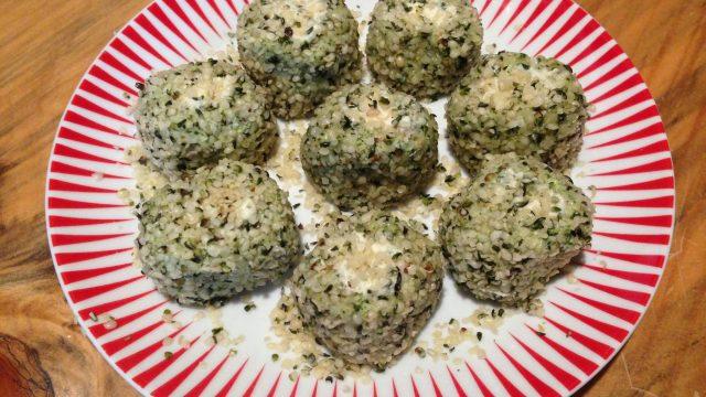 raw Arancini balls