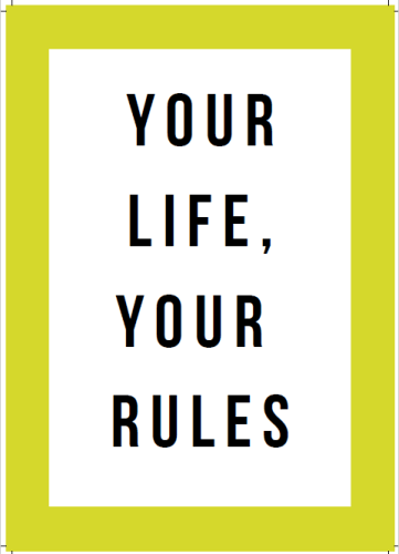 start living today workbook review. a page taken from the book: your life, your rules