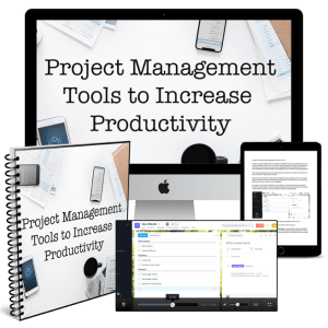 Project Management Tools to Increase Productivity bundle