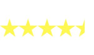 4.5 Star Rating