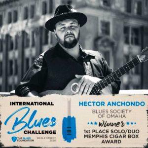 Hector Anchondo IBC solo/duo winner